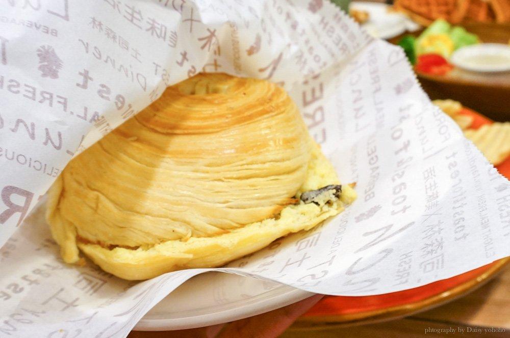 toast-forest,土司森林,南門總店,中興大學,早午餐,台中早午餐,台中美食,南門路,奶酥麵包