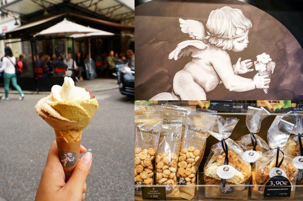 amorino,花朵冰淇淋,花瓣冰淇淋,巴黎美食,巴黎冰淇淋,巴黎甜點,冰淇淋,小天使冰淇淋,巴黎