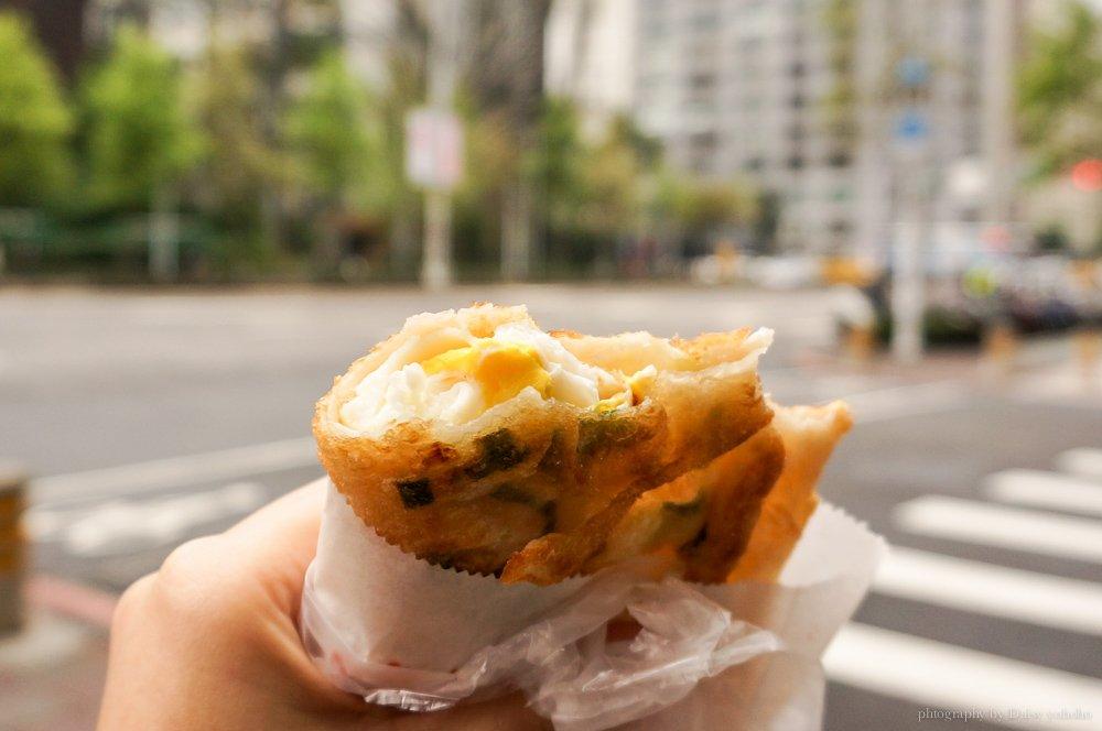 純手工炸蛋蔥油餅, 台北老店, 光華商場, 三創生活園區, 美食小吃. 忠孝新生站, 黛西優齁齁